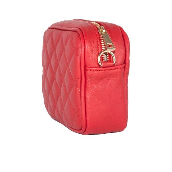 Kožená kabelka Andrea Cardone 2015 Red