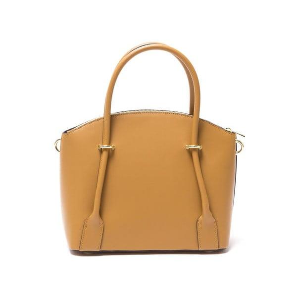 Kožená kabelka Marina 3025 Cognac