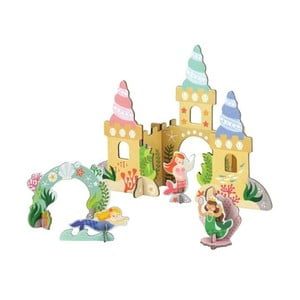 3D puzzle Petit collage Mermaid Castle