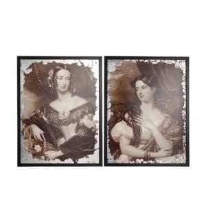 Sada dvoch obrazov Antique