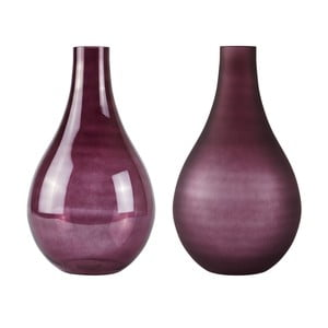 Sada 2 váz vo farbe bordeaux Villa Collection