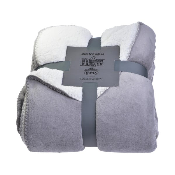 Pléd Grey and Cream, 150x200 cm