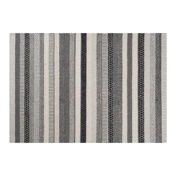 Vlnený koberec Mariko Grey, 140x200 cm
