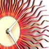 Drevené hodiny Radium červené, 29 cm