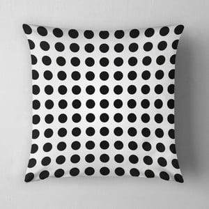Vankúš Small Black Dots, 43x43 cm
