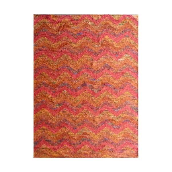 Vlnený koberec Kilim Silk, 155x240 cm