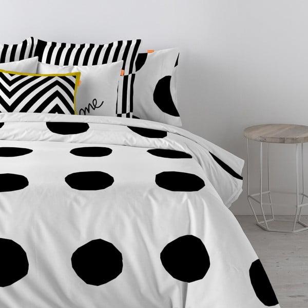 Bavlnená obliečka na paplón Blanc Dot, 220 x 220 cm
