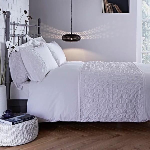 Biele obliečky Bianca Origami, 230x220cm
