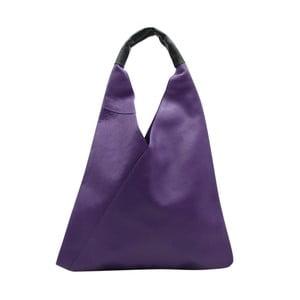 Fialová kabelka z pravej kože Andrea Cardone Karula