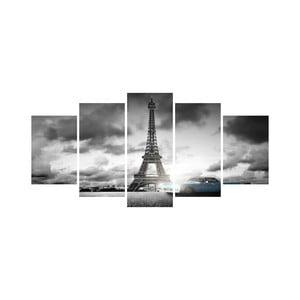 Viacdielny obraz Black&White no. 66, 100x50 cm