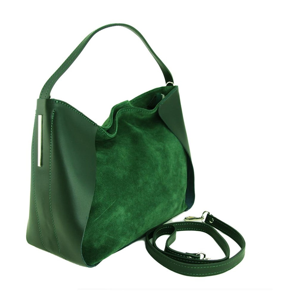 b0700e927a0 Kožená kabelka Duose Verde ...