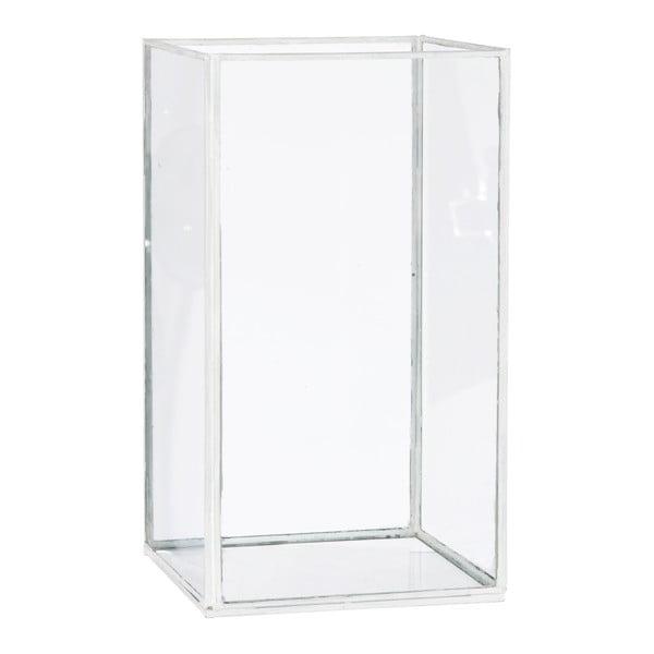 Lampáš/váza Cube, výška 28 cm