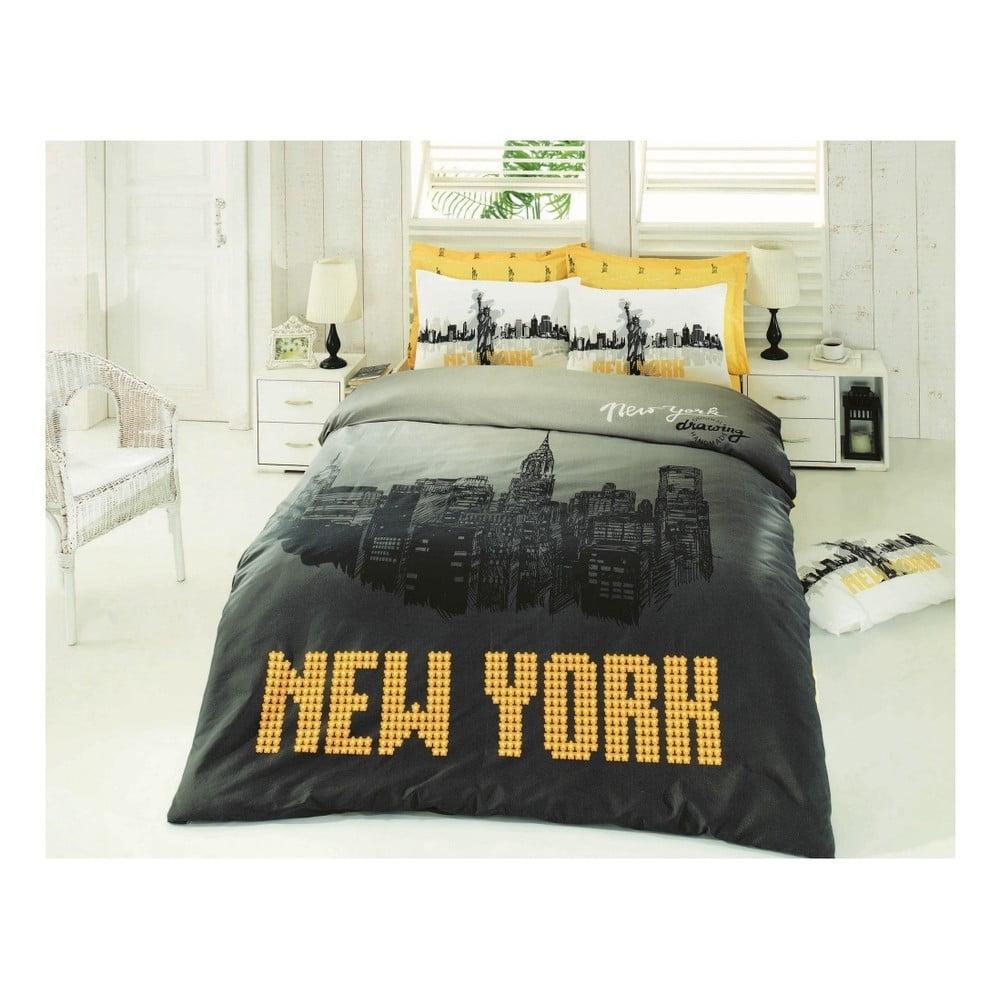 Obliečky s plachtou New York, 200 x 220 cm