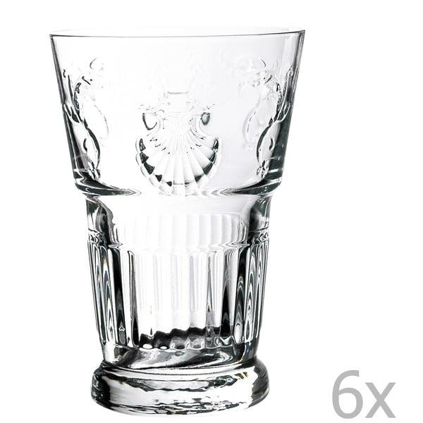 Sada 6 pohárov Versailles, 400 ml
