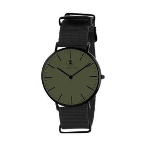 Tmavozelené pánske hodinky Black Oak Armo