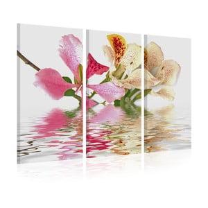 Viacdielny obraz na plátne Artgeist Orchid, 120x80cm