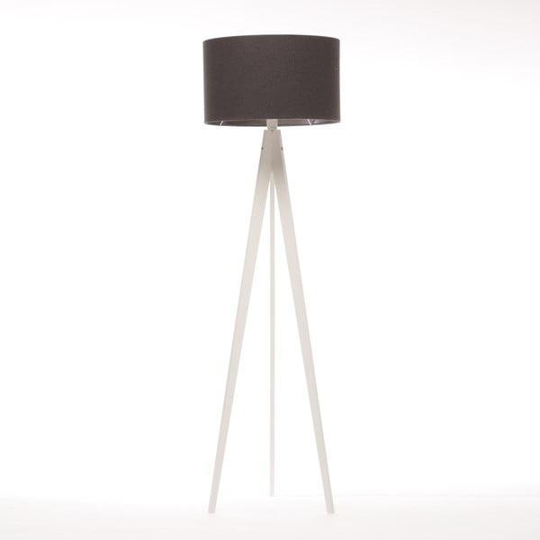 Stojacia lampa Artist Dark Grey Felt/White, 125x42 cm