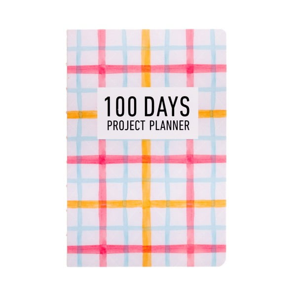 Plánovač Languo 100 Days Pattern, farebný