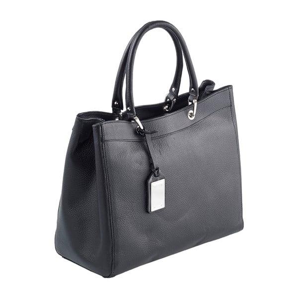 Kožená kabelka Andrea Cardone 939 Black