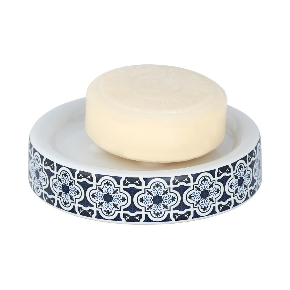 Modrá nádoba na mydlo Wenko Murcia