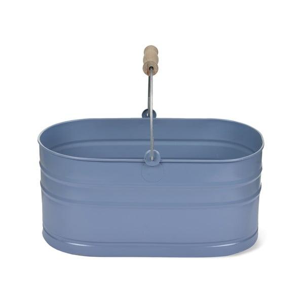 Košík na umývacie prostriedky Utility, modrý