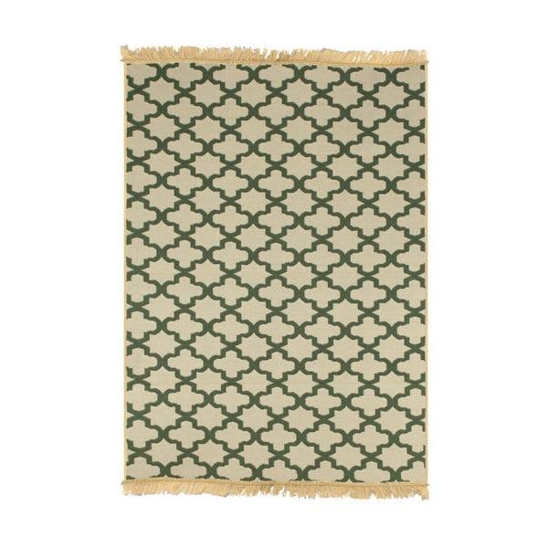 Zeleno-béžový koberec Ya Rugs Yildiz, 80x150cm