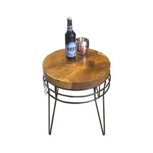 Príručný stolík z akáciového dreva Fuhrhome Montreal