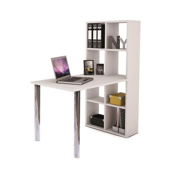 Pracovný stôl s knižnicou Light