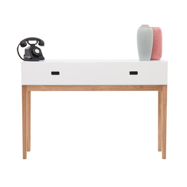 Odkladací konzolový stolek Tordis White