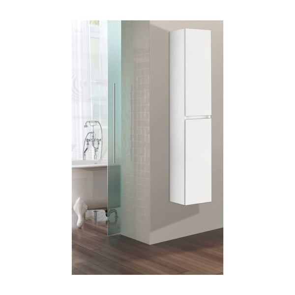 Kúpeľňová závesná skrinka Column, odtieň bielej