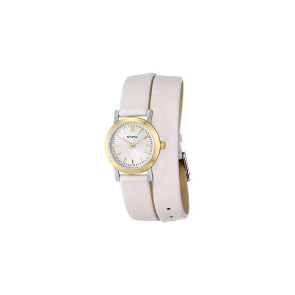 Dámske hodinky Bulova 98193 Cream/Grey