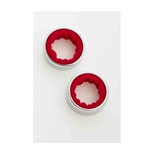 Sada 2 krúžkov na víno Steel Function Wine Rings