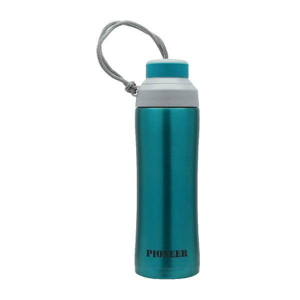 Modrá športová fľaša Pioneer, 450 ml