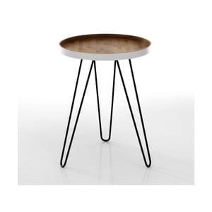 Odkladací stolík s doskou z bambusu Tomasucci Hijo