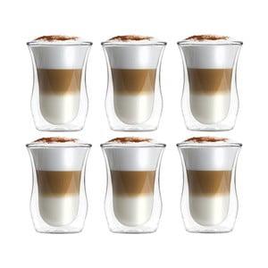 Sada 6 pohárov z dvojitého skla Vialli Design, 300 ml