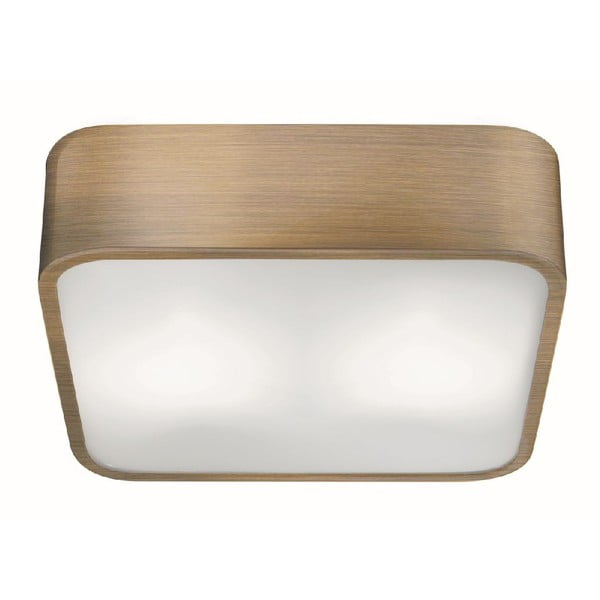 Stropné svetlo Square Brass