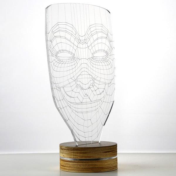 3D stolová lampa Anonymous