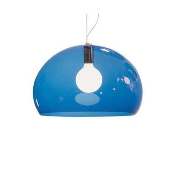 Petrolejové modré stropné svietidlo Kartell Fly