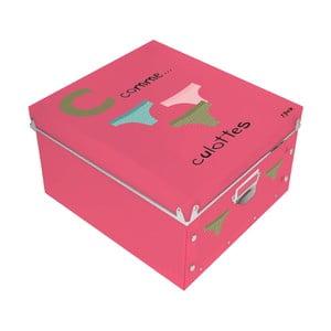 Krabica Culottes, ružová