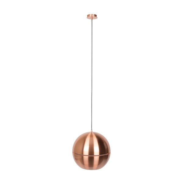Stropné svietidlo v medenej farbe Zuiver Retro, Ø 40 cm