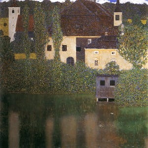 Obraz Gustav Klimt - Water Castle, 45x45 cm