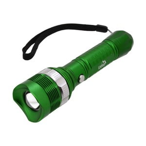 Zelené vreckové LED svietidlo Cattara ZOOM