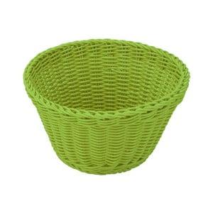 Zelený stolový košík Saleen, ø 18 cm