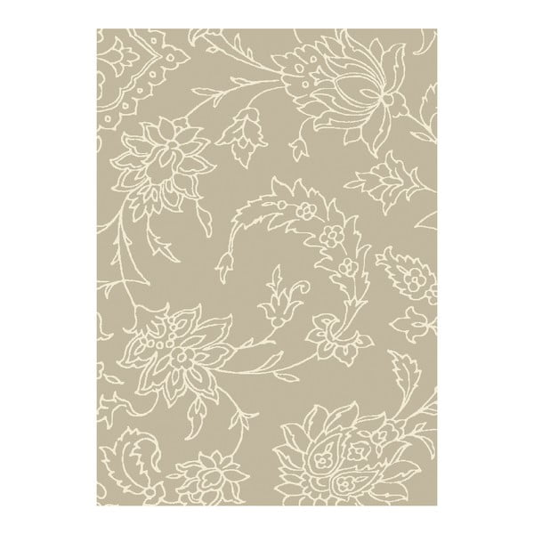 Koberec Asiatic Carpets Xico Scroll Olive, 120x170 cm