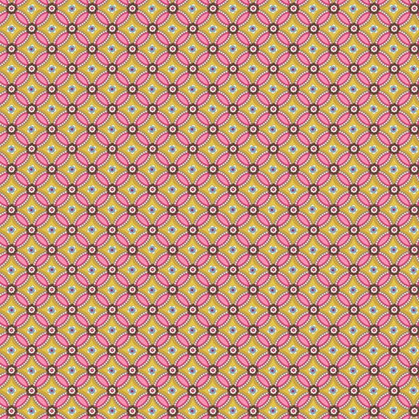 Tapeta Pip Studio Geometric, 0,52x10 m, žltá