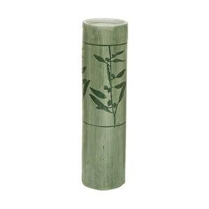 Zelená kameninová váza Santiago Pons Florist, výška 38,5 cm