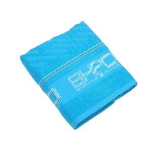 Modrá bavlněná osuška BHCP, 80x150 cm