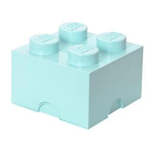 Svetlomodrá úložná kocka LEGO®