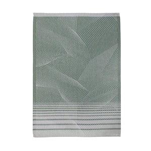 Zelená kuchynská utierka Södahl Strictly, 50 x 70 cm