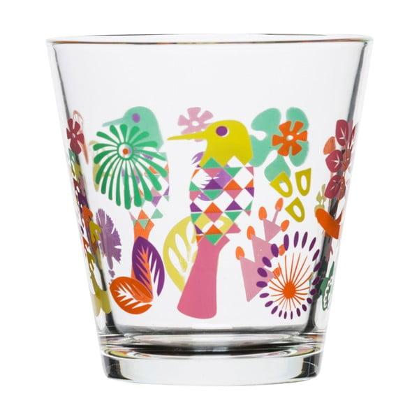 Sada 4 pohárov Sagaform Fantasy 200ml, fialová/ružová